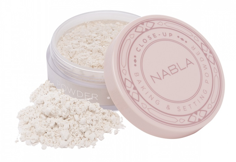 Kozmetika Nabla puder u prahu - Close-Up Baking & Setting Powder - Translucent